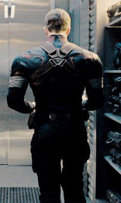 Chris Evans as Marvel's Captain America