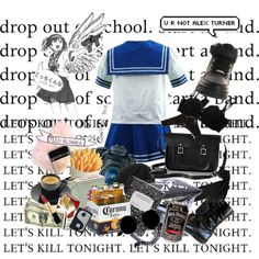 Drop out of school. Start a band. Let's kill tonight. Let's kill tonight.