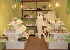Kat Burki booth featuring Kat Burki fragrances. #KatBurki #Products #fragrance