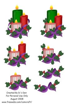 SparkxCrafts: Freebie Christmas Decoupage