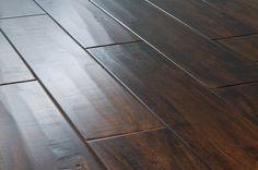 "Engineered Hardwood - Acacia Collection - Acacia Handscraped Walnut / 4 7/8"" / 5/8"" / Random Lengths"
