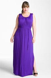 Tahari Woman 'Samara' Maxi Dress