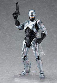 Figma Max Factory #107 RoboCop Action Figure.