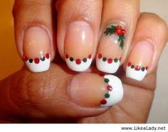 Christmas nail art design idea 2013-2014