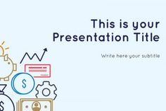 Evin Free PowerPoint Template is perfect for accounting, bank or financial presentations. The vector images and graphics to add flare to the finance theme. Powerpoint Maker, Microsoft Powerpoint, Free Powerpoint Templates Download, Ppt Template Design, Numbers Preschool, Financial Information, Slide Design, Presentation Templates, Finance