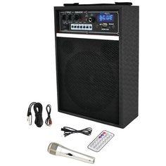 "PYLE PRO PWMAB250BK 300-Watt Bluetooth(R) 6.5"" Portable PA Speaker System"