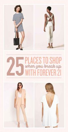 25 Shops To Cheat On Forever 21 With