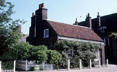 Harry and Meghan's home  Nottingham Cottage in the grounds of Kensington Palace.