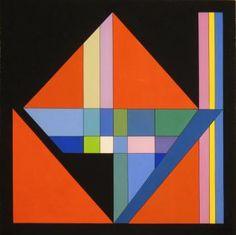 Guy Vandenbranden °Brussel 1926 Composition, gouache sur papier, 54 x 54 cm