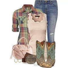A little bit country chic...