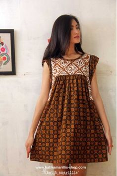 batik amarillis's frida tunic/mini dress - batik - Batik Amarillis