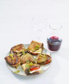 Rezept: Auberginen-Snack