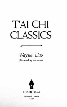 by Waysun Liao The complete 218 page text can be viewed and read here.