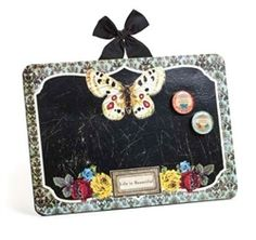 Life is Beautiful Memo Board with Magnets