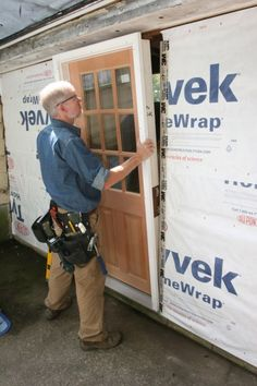 Installing an exterior door so it works and looks great is an essential building skill. Carpenter Andy Engel is going to show us how to do it.