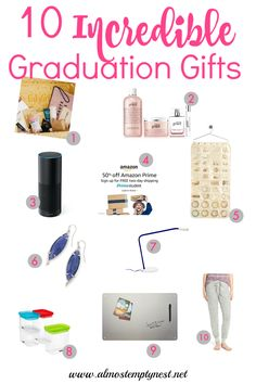 10 Incredible Graduation Gifts for Girls