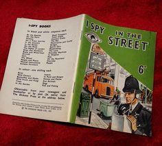 I-SPY - IN THE STREET an John Gardner publication