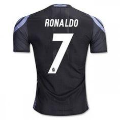 16-17 Real Madrid Football Shirt Third RONALDO Cheap Jersey [G00886]