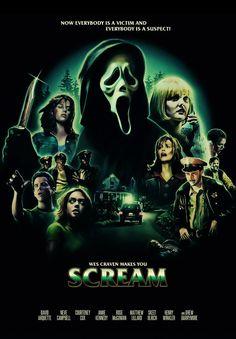 Scream / David Arquette Neve Campbell Courteney Cox Matthew Lillard Rose McGowan Skeet Ulrich Drew Barrymore