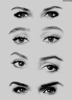Amazing Learn To Draw Eyes Ideas. Astounding Learn To Draw Eyes Ideas. Pencil Drawing Tutorials, Pencil Art Drawings, Art Drawings Sketches, Eye Drawings, Sculpture Ornementale, Realistic Eye Drawing, Human Eye Drawing, Drawing Step, Drawing Faces