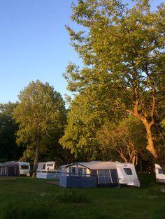 Norje Boke camping.  Blekinge. Sweden..