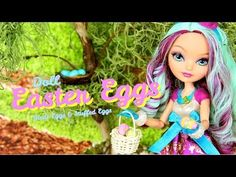How to Make Doll Easter Eggs (instead of making the clay I would try play dough)