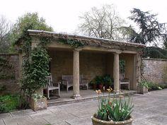 Tintinhull Garden - Summer house  Tintinhull, England, GB