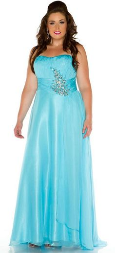 2014 Plus Size Prom Dresses For a Curvy Figure (24 Pictures)