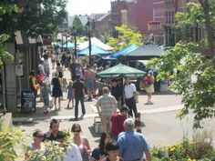 Downtown Charlottetown Farmer's Market, every Sunday in the Summer.