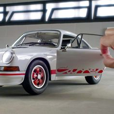 """Europe's Autocar magazine called the 911 Carrera, """"sensational, even by Porsche standards."""" Limited numbers of our 1:8 scale model are available for pre-order - order now! https://www.model-space.com/gb/build-the-porsche-911-carrera.html"""