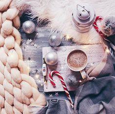 Флэтлэй, flatlay, новогодний декор, кофе, новый год