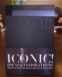 "@bazaarindia presents ""Iconic! Ideas & Inspirations Behind The World's Biggest Brands"" - a #collector's #coffeetable #book  via HARPER'S BAZAAR INDIA MAGAZINE OFFICIAL INSTAGRAM - Fashion Campaigns  Haute Couture  Advertising  Editorial Photography  Magazine Cover Designs  Supermodels  Runway Models"