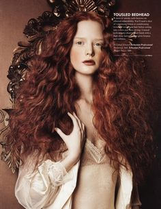 long thick red natural curly hair alli cripe imagebam.com