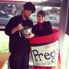 Prego halloween costume!  Photo credit: Eurasia Cafe