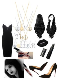 """Creepypasta : Jane The Killer"" by mountaindewqueen15 ❤ liked on Polyvore featuring Victoria Beckham, Christian Louboutin, Lipstick Queen, BERRICLE, Kate Spade, Accessorize, Rachel Jackson, Jennifer Meyer Jewelry and Journee Collection"