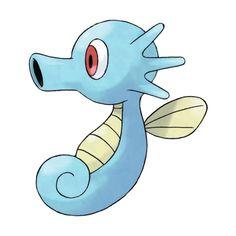 Horsea (Pokémon) ❤ liked on Polyvore featuring pokemon