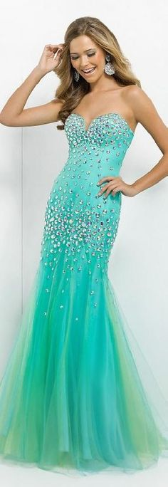 Embellished Mermaid Natural Sweetheart Floor Prom Dresses Sale bestlovedresses54120 #promdress