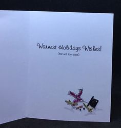 Holiday Custom card Holiday Greeting Cards, Holiday Wishes, Greeting Cards Handmade, Custom Cards, Ark, Reusable Tote Bags, Design, Personalized Cards, Design Comics
