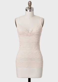 Camille Lace Camisole In Peach at #Ruche @Ruche