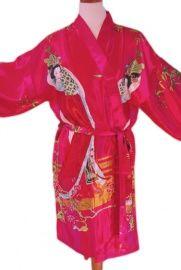 Kimono Roze   GoodRoots  Hiermee kom je altijd goed voor de dag. Op de camping, in de sauna, als de postbode aan de voordeur staat, in een hostel etc. Dun materiaal, waardoor gemakkelijk mee te nemen op reis.  Ga naar www.goodroots.nl voor meer kleuren en nadere productbeschrijving.