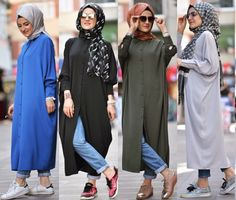 Pinterest: @adarkurdish Hijab Fashion 2016, Modest Fashion Hijab, Stylish Hijab, Modern Hijab Fashion, Muslim Women Fashion, Fashion Terms, Hijab Chic, Abaya Fashion, Stylish Outfits
