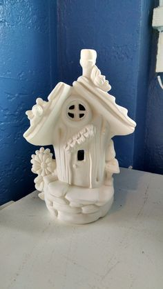 Small Cottage Elf or Fairy House and home by KiblerCottage on Etsy
