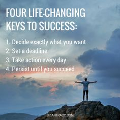These 4 life-changing #tips will help you #achieve the personal #success you desire.