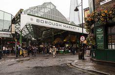 Borough Market London on DrizzleandDip.com