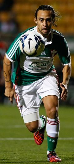 Palmeiras v Flamengo In This Photo: Valdivia Valdivia of Palmeiras in action during the match between Palmeiras e Flamengo for the Brazilian Series A 2014 at Pacaembu stadium on September 2014 in Sao Paulo, Brazil. Good Soccer Players, Football Players, Most Popular Sports, Brazil, Iphone, Cartoons, Hs Sports, Wall