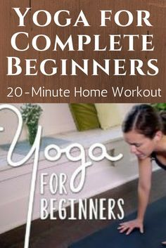 Yoga for Complete Beginners!  Whether you're a beginner, or you have already had some experience with yoga, this workout is great for anyone. Join Adriene for a 20-minute home workout.  Get your yoga mat ready and follow along with instruction in poses, form, breathing and flow.  A wonderful foundation to begin building your own personal yoga practice.  Enjoy, stay mindful and find what feels good.   https://www.youtube.com/watch?v=v7AYKMP6rOE