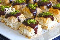 Dünya'nın En Kolay Tatlı Tarifi Easy Cake Recipes, Easy Desserts, Dessert Recipes, Iftar, Love Eat, Love Food, Cake Recipe Using Buttermilk, Pasta Cake, Cakes Plus