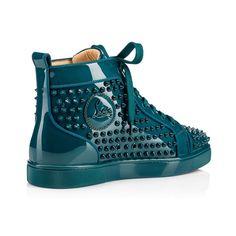 Men Shoes - Louis Orlato Patent/spikes - Christian Louboutin
