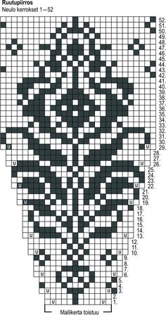Fair Isle Knitting Patterns, Knitting Stiches, Knitting Charts, Knitting Designs, Knitting Socks, Knit Patterns, Hand Knitting, Knitting Needles, Graph Design
