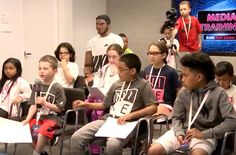 Watch Kid Reporters Prep Top NBA Draft Prospects In The Foot Locker Media Training http://SneakersCartel.com #sneakers #shoes #kicks #jordan #lebron #nba #nike #adidas #reebok #airjordan #sneakerhead #fashion #sneakerscartel
